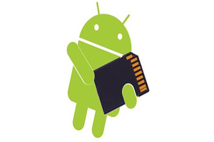 Android memory card