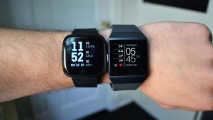 Fitbit Versa and Ionic