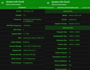 System Info Droid