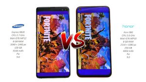 Honor View 20 vs Galaxy S10
