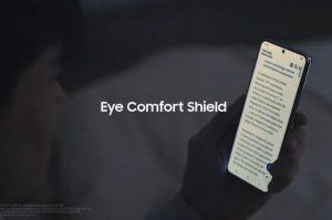 Функция Eye Comfort Shield